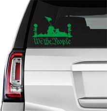 Battlefield Of The Brave We The People Decal Ur Impressions Llc