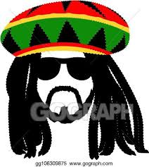 vector stock jamaican rasta hat with