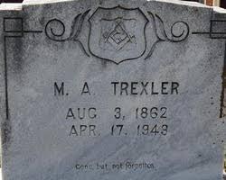 Marcus Adam Trexler (1862-1943) - Find A Grave Memorial