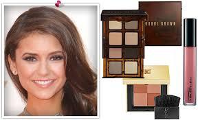 get nina dobrev s emmy makeup look