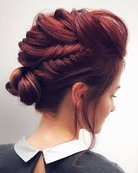 Gorgeous Feminine Braided Updo Wedding Hairstyles Fryzury