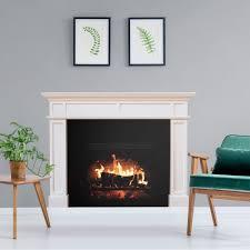 Fathead Fireplace Giant Removable Wall Decal Walmart Com Walmart Com