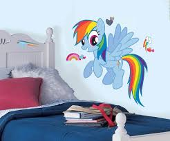 My Little Pony Rainbow Dash Giant Wall Decals Us Wall Decor