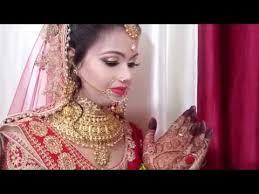 easy method indian bridal makeup