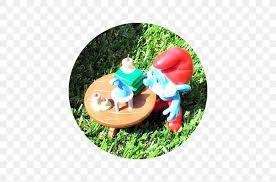 garden gnome smurfette papa smurf the