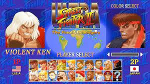 street fighter ii the final challengers