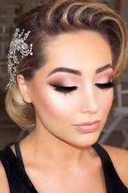 elegant wedding makeup idea 45 make up