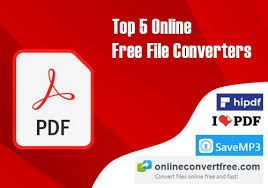 Online Free File Converters and PDF Converters - HBN Infotech