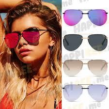 sunglasses mirror aviator black pink