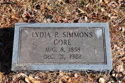 Lydia Priscilla Simmons Gore (1867-1922) - Find A Grave Memorial