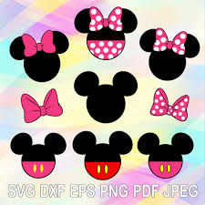 Pin on Minnie and Mickey Disney SVG