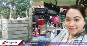 pinay maid receives high end gifts from