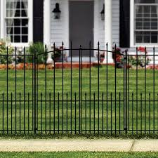 Yardlink Grand Empire Xl 3 94 Ft H X 3 96 Ft W Powder Coated Steel Walk Thru Gate In The Metal Fence Gates Department At Lowes Com