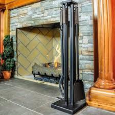 bronze fireplace tool sets bronze