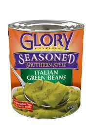 glory foods seasoned italian green