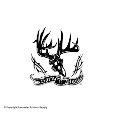 Auto Parts And Vehicles Large Born To Hunt Vinyl Window Decal Car Truck Sticker Deer Hunting Outdoors Car Truck Graphics Decals