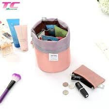 cosmetic cases round makeup bag