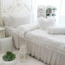 white cute girls bedding sets queen
