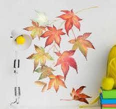 Japanese Maple Leaves Wall Sticker Tenstickers