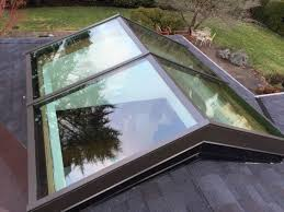 homemade curb mounted skylight