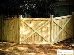 The College X Framed Wood Privacy Fence Pictures Per Foot Pricing Wood Privacy Fence Wood Backyard