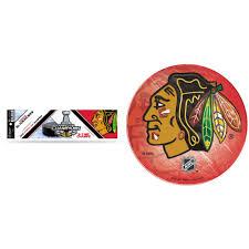 Chicago Blackhawks Official Nhl Bumper Sticker And Domed Car Decal Bundle 2 Items Walmart Com Walmart Com