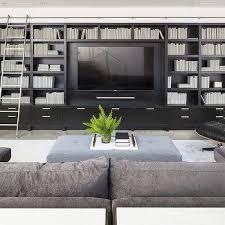 living room built in shelving unit