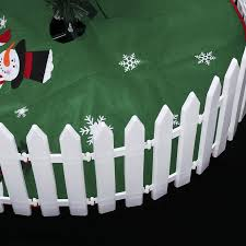 2020 White Plastic Picket Fence Christmas Miniature Home Garden Christmas Xmas Tree Wedding Party Decoration From Youergarden 23 95 Dhgate Com