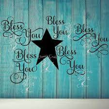 Bless You Bless You Decal Bless You Tissue Jar Bundle Etsy