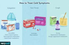 how a cold is treated
