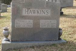 Thomas Melvin Hawkins (1879-1958) - Find A Grave Memorial