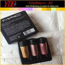 3 pieces 2 5g pigment glitter powder