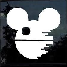 Death Star Disney Mickey Mouse Window Decal Sticker Custom Sticker Shop