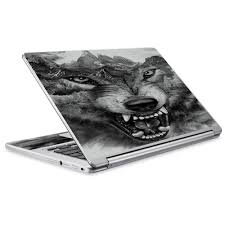 Skins Decals For Acer Chromebook R13 Laptop Vinyl Wrap Angry Wolf Growling Mountains Walmart Com Walmart Com