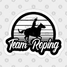 cowboy team roping calf roper