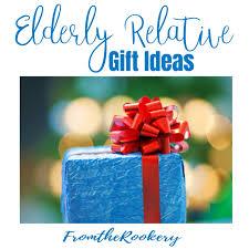 gifts for elderly relatives