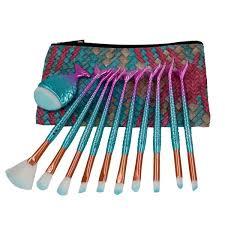 niziyi 11pcs mermaid makeup cosmetic