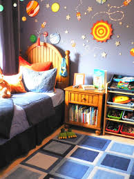 Space Themed Interior Design Ideas That Bring The Stars Into Your Home Space Themed Bedroom Space Themed Room Themed Kids Room