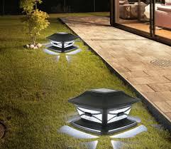 Vislone 2 Pack Solar Post Lights Outdoor Garden Waterproof Post Cap Lamp For 4x4 6x6 Wooden Posts Deck Patio Fence Was 33 98 Now 16 99 W Code 4dx6jzkb Amazon Uk Deals And Giveaways
