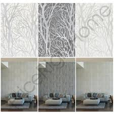 tree branches wallpaper feature wall