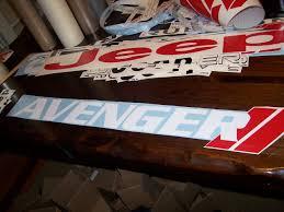 Dodge Avenger Windshield Banner Sticker Decal R T Vinyl