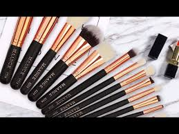 maange makeup brushes set review