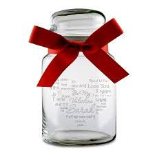 ages personalized candy jar
