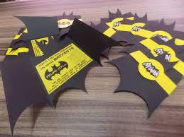 Convites Criativos 9 Invitaciones De Batman Invitaciones De