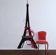 Eiffel Tower Swirl Giant Decal Trading Phrases