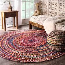braided rugs round com