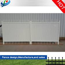China Hot Sale Modern Philippines Fences Iron Main Sliding Metal Gate Designs China Yard Fence And Outdoor Gate Price