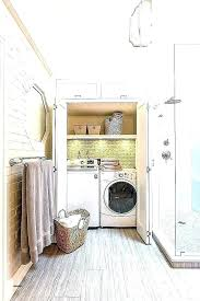 bathroom with washer and dryer ideas