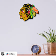 Chicago Blackhawks Eva Foam 3d Wall Clock Fanfave
