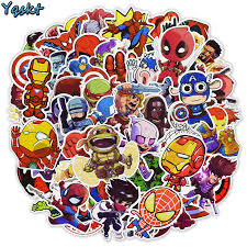 100pcs Pack Cute Cartoon Characters Stickers For Stationery Luggage Motorcycle Guitar Laptop Skateboard Desk Anime Stickers Kid Gift Mall